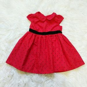 Other - girls red and black dress